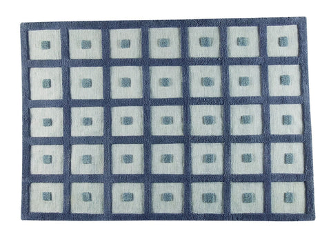 MAT Surface Frame Grey Area Rug main image