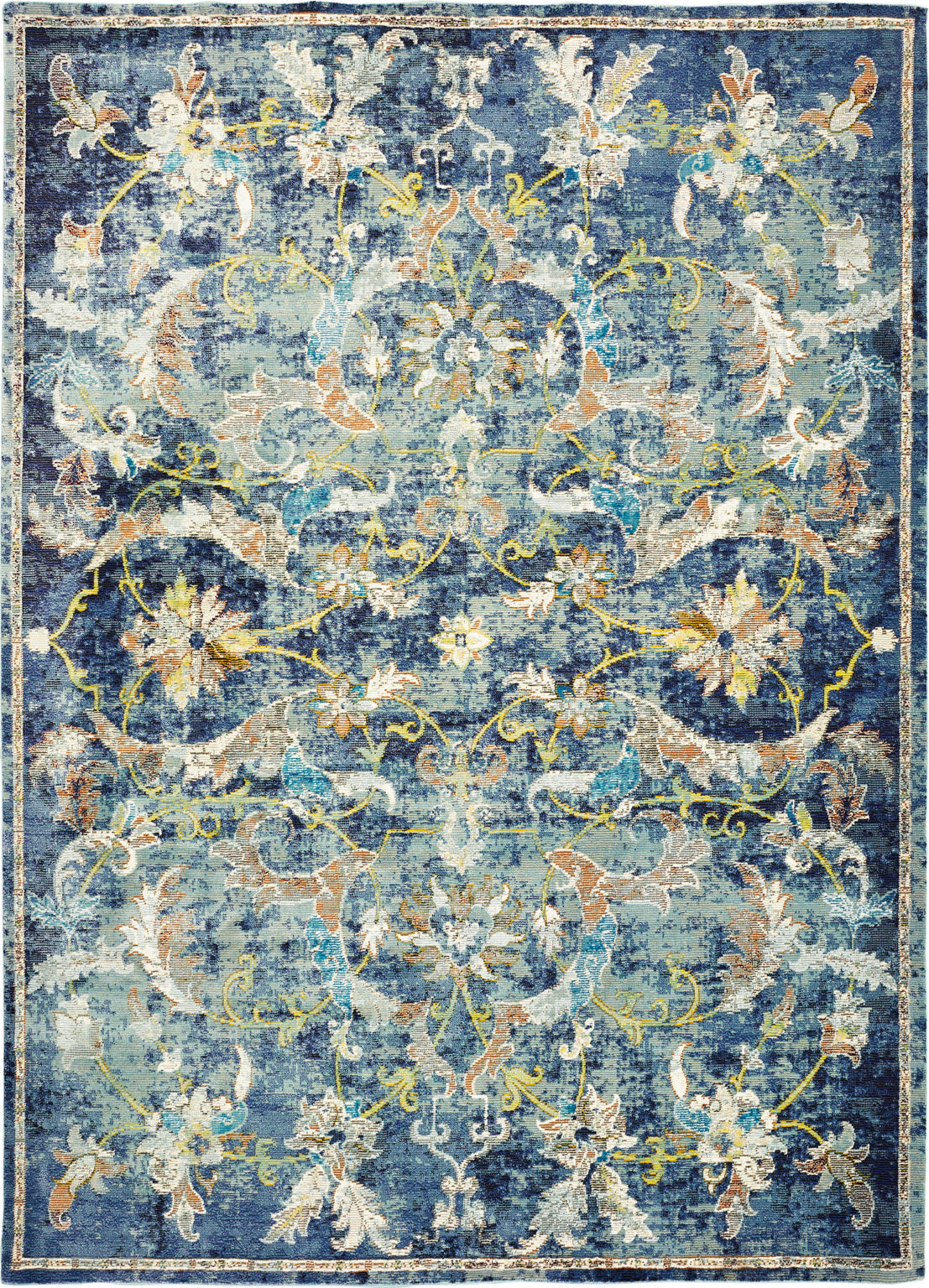 LR Resources Gala 81273 Navy Multi Area Rug main image