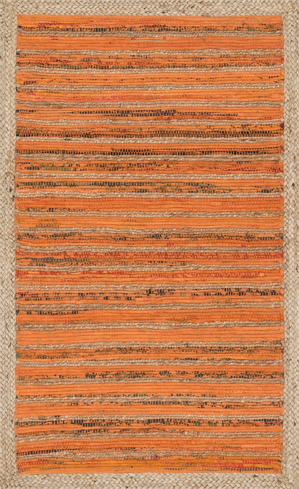 Loloi Gavin HGV01 Orange Area Rug main image