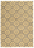 Linon Geo Collection RUGGE09 Grey/Butter Area Rug main image
