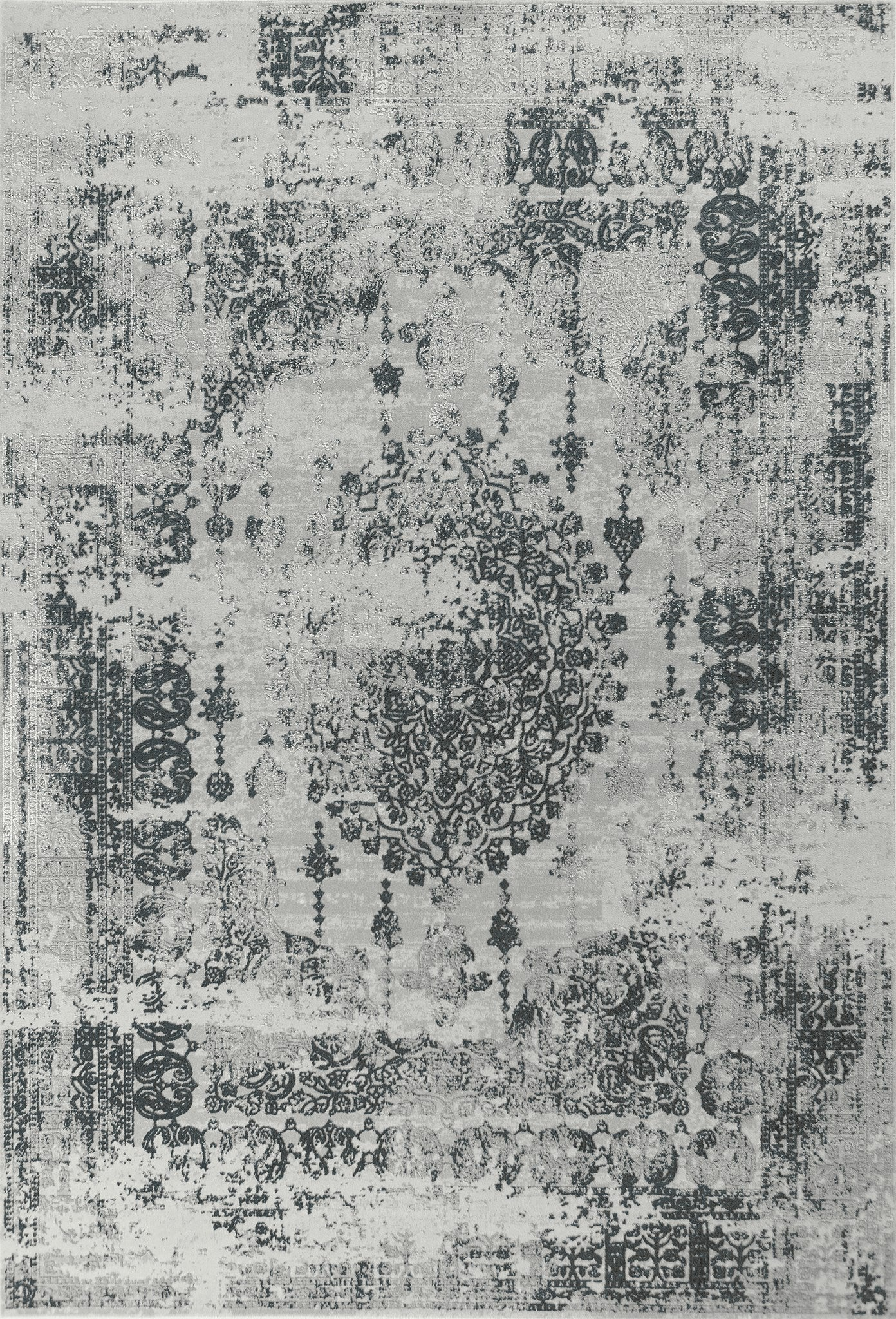 KAS Generations 7001 Grey Antiquities Area Rug main image