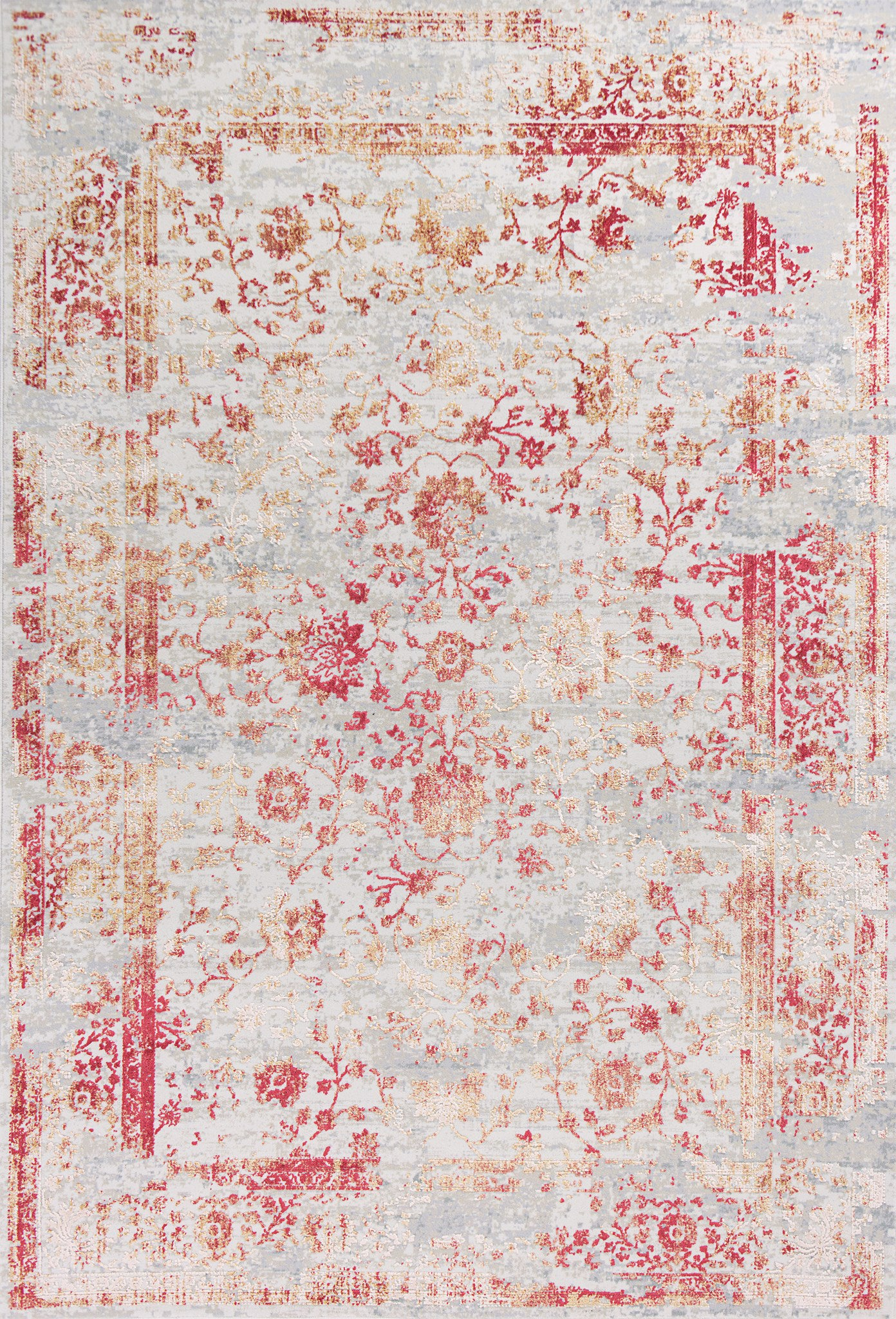 KAS Generations 7002 Ivory/Red Cypress Area Rug main image