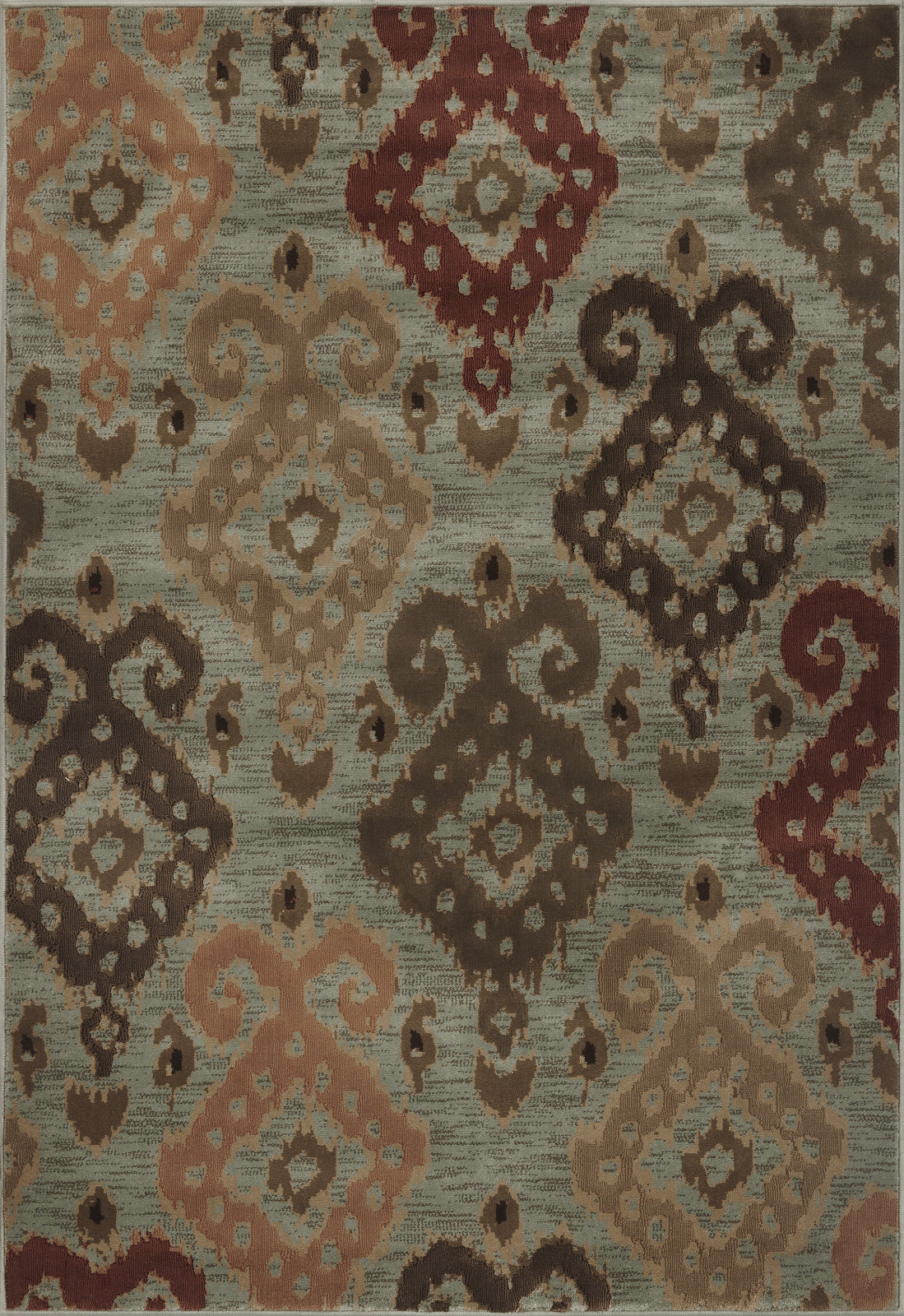 KAS Geneva 9411 Blue Allover Ikat Area Rug main image