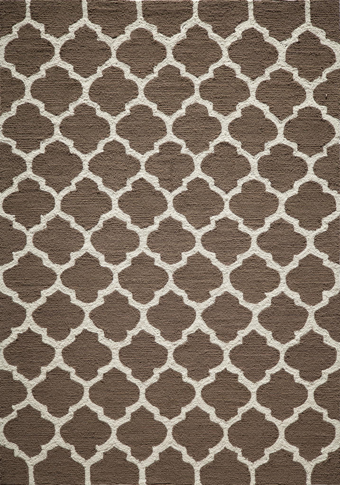 Momeni Geo GEO-4 Brown Area Rug main image