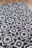 Momeni Geo GEO16 Charcoal Area Rug Close Up