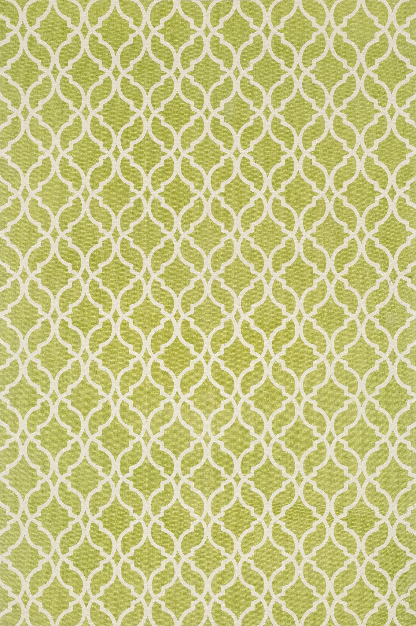 Loloi Geo GEO03 Apple Green / Ivory Area Rug main image