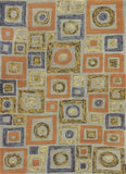KAS Geo 4605 Frost Cityscape Hand Tufted Area Rug