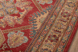 Momeni Ghazni GZ-02 Red Area Rug Corner Shot