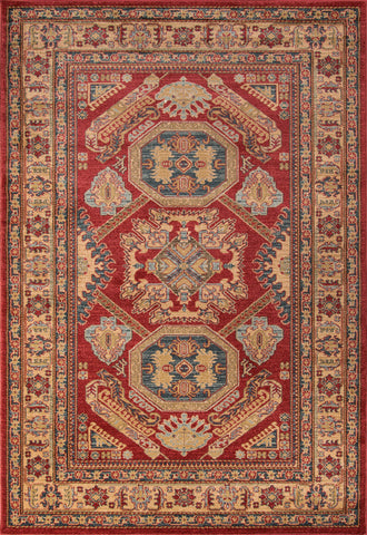 Momeni Ghazni GZ-02 Red Area Rug main image