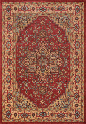Momeni Ghazni GZ-04 Red Area Rug main image