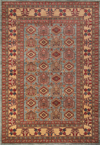 Momeni Ghazni GZ-06 Light Blue Area Rug main image