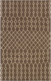 Artistic Weavers Ghana Jayden Chocolate Brown/Tan Area Rug main image