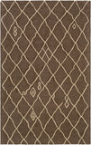 Artistic Weavers Ghana Zoey Chocolate Brown/Tan Area Rug main image