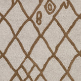 Artistic Weavers Ghana Zoey Light Gray/Nutmeg Area Rug Swatch