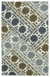 Kaleen Glam GLA02-49 Brown Area Rug