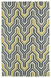 Kaleen Glam GLA03-28 Yellow Area Rug