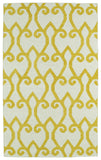 Kaleen Glam GLA05-28 Yellow Area Rug