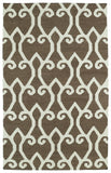 Kaleen Glam GLA05-49 Brown Area Rug