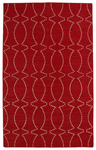 Kaleen Glam GLA07-25 Red Area Rug main image