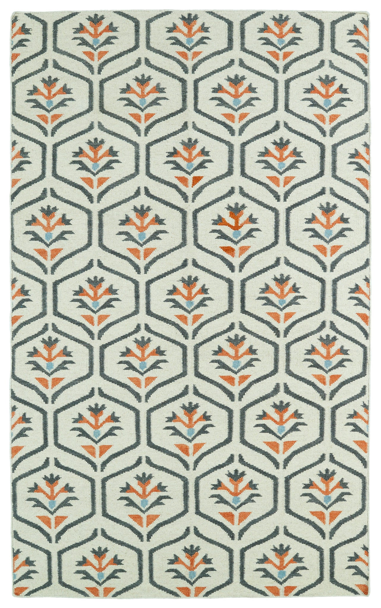 Kaleen Glam GLA08-99 Coral Area Rug main image