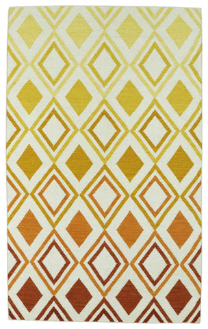 Kaleen Glam GLA09-89 Orange Area Rug