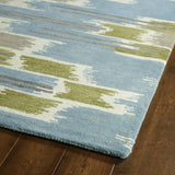Kaleen Global Inspirations GLB02-70 Wasabi Hand Tufted Area Rug