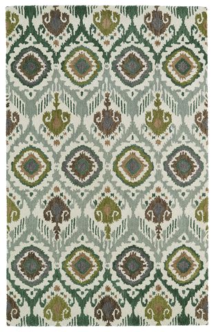 Kaleen Global Inspirations GLB04-50 Green Area Rug main image
