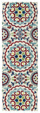 Kaleen Global Inspirations GLB08-01 Ivory Area Rug Runner Shot