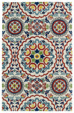 Kaleen Global Inspirations GLB08-01 Ivory Area Rug main image