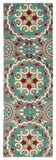 Kaleen Global Inspirations GLB08-75 Grey Area Rug Runner Shot