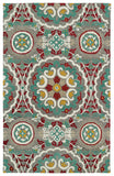 Kaleen Global Inspirations GLB08-75 Grey Area Rug main image