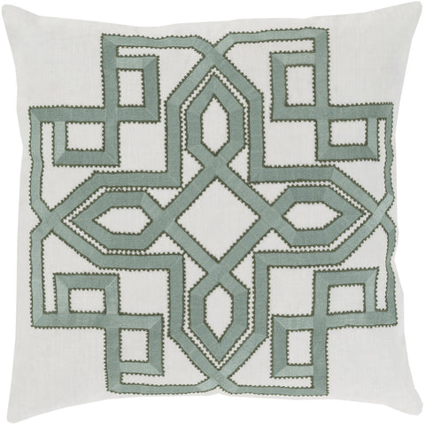 Surya Gatsby Multidimensional Chic GLD-001 Pillow by Beth Lacefield