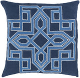 Surya Gatsby Multidimensional Chic GLD-002 Pillow by Beth Lacefield