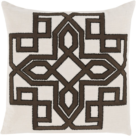 Surya Gatsby Multidimensional Chic GLD-004 Pillow by Beth Lacefield