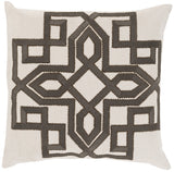Surya Gatsby Multidimensional Chic GLD-005 Pillow by Beth Lacefield