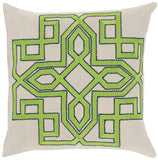 Surya Gatsby Multidimensional Chic GLD-006 Pillow by Beth Lacefield