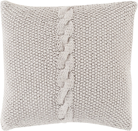 Surya Genevieve Classic Cable Knit GN-002 Pillow