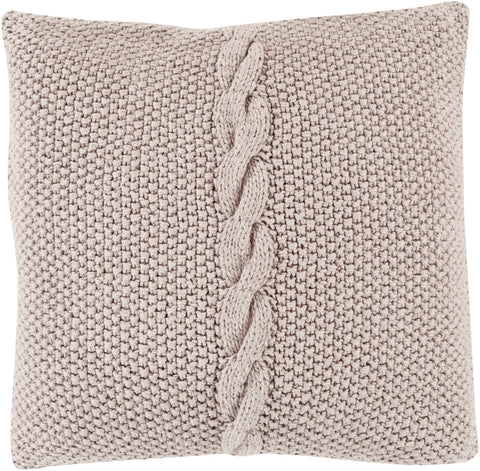 Surya Genevieve Classic Cable Knit GN-005 Pillow