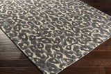 Artistic Weavers Geology Addison Onyx Black/Charcoal Area Rug Corner Shot