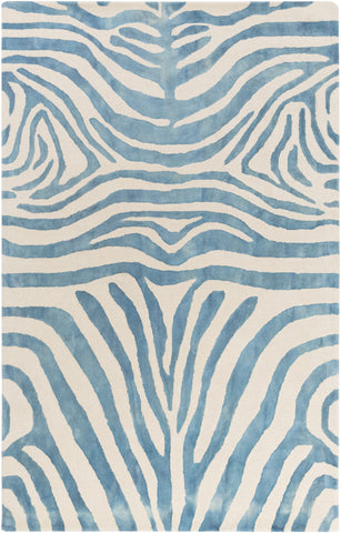 Artistic Weavers Geology Parker Turquoise/Ivory Area Rug main image