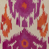 Artistic Weavers Geology Skylar Magenta/Bright Orange Area Rug Swatch