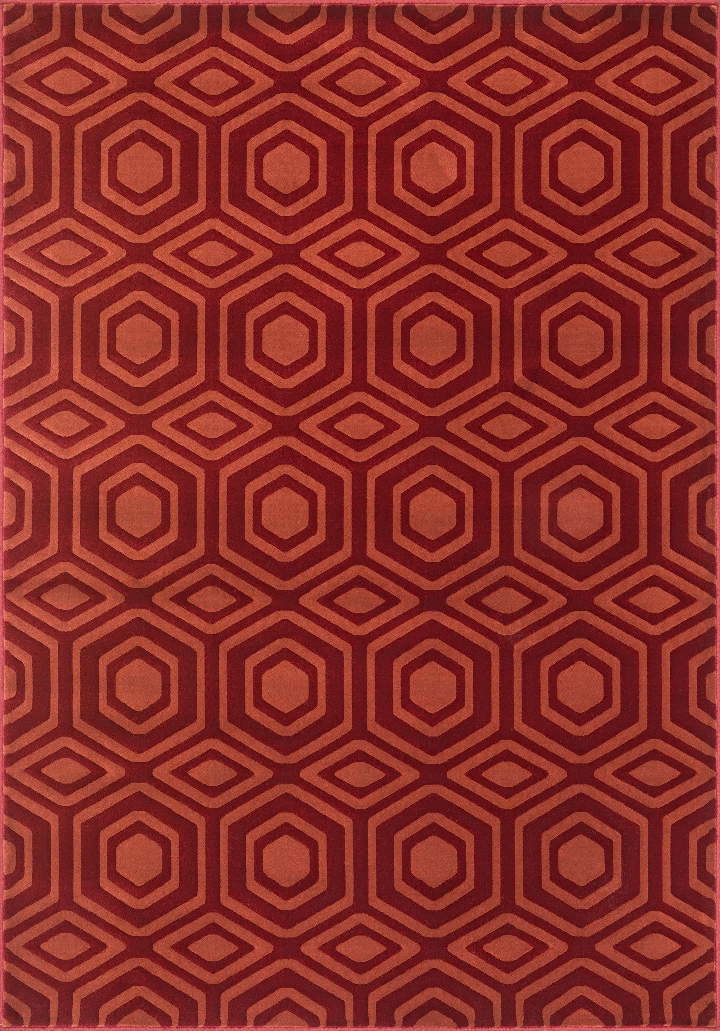 Loloi Goodwin GW-05 Red / Rust Area Rug main image