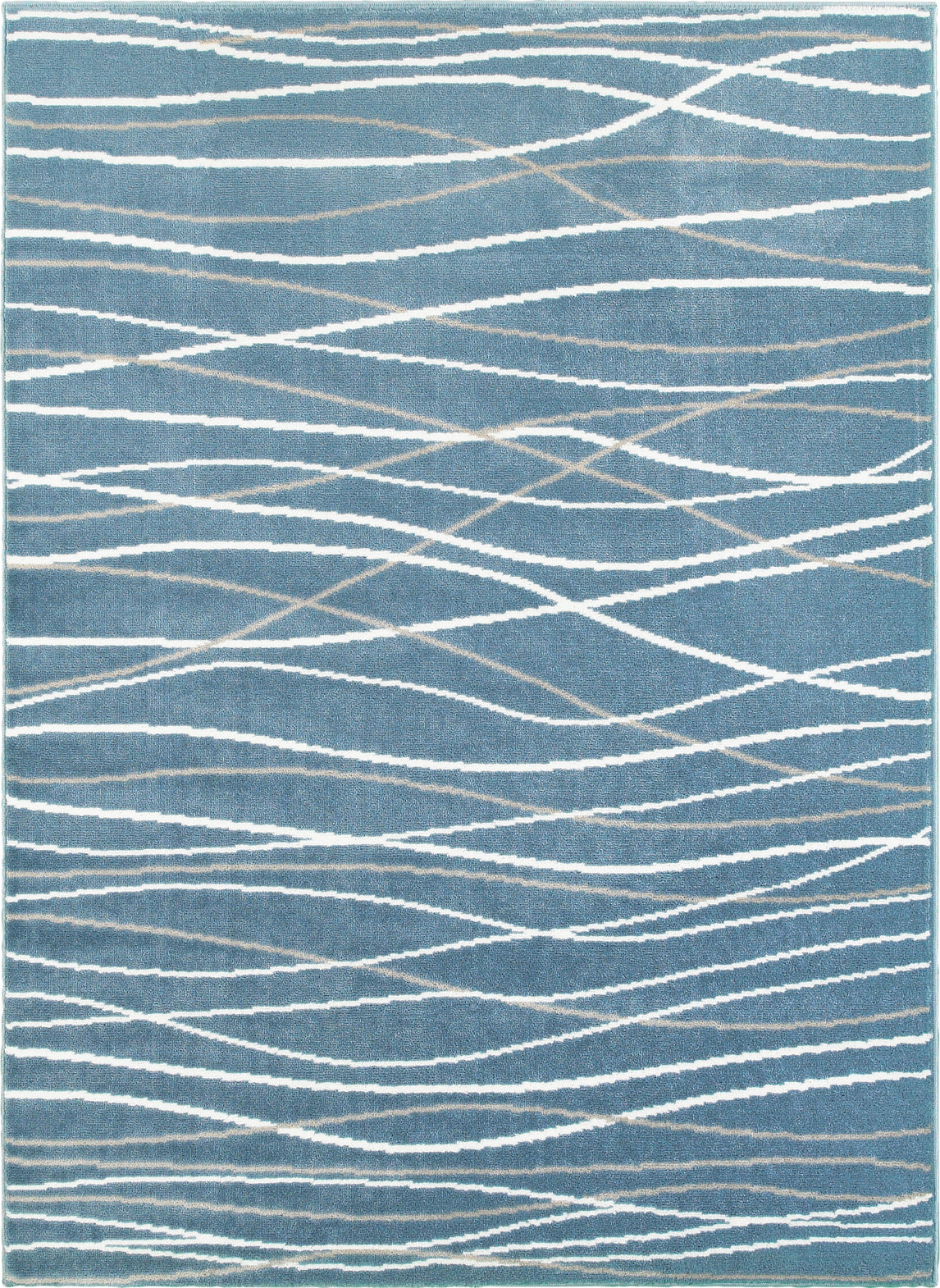 LR Resources Grace 81125 Blue Area Rug main image