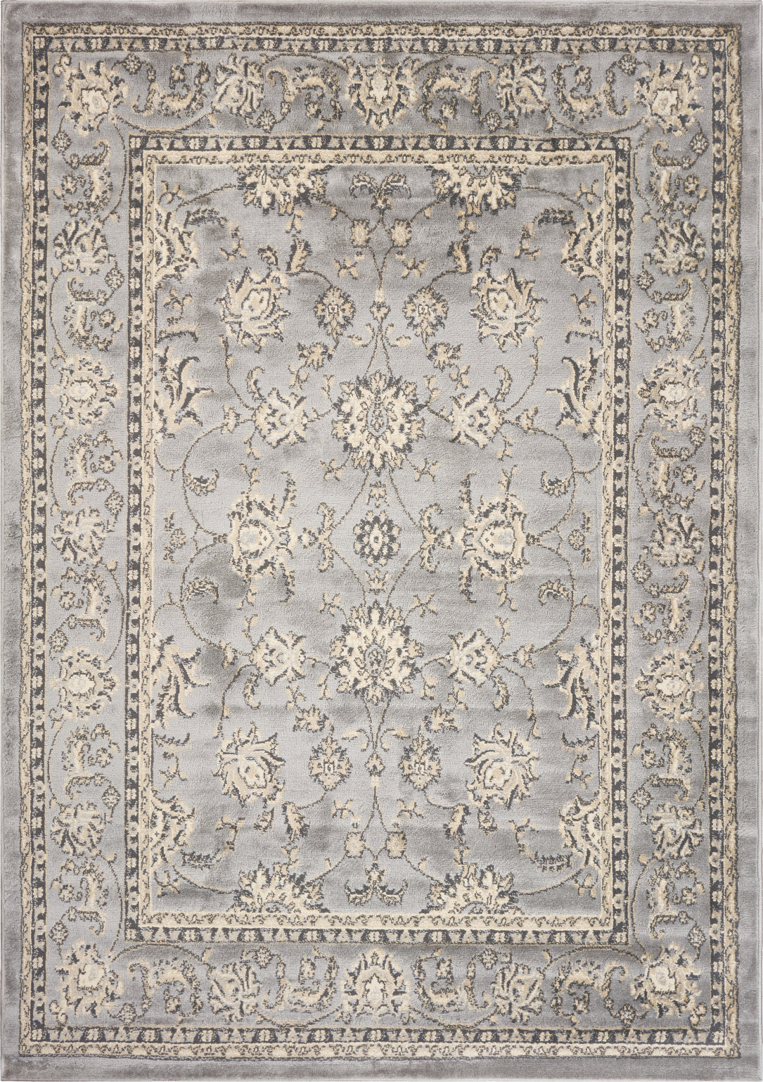 LR Resources Grace 81130 Gray Area Rug main image