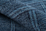 Momeni Gramercy GM-01 Denim Area Rug Detail Shot