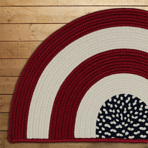 Colonial Mills Glory GY00 Red White and Blue Area Rug main image