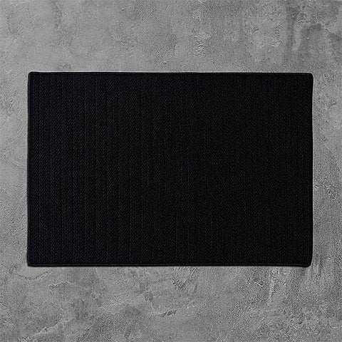 Colonial Mills Simply Home Solid H031 Black Area Rug main image