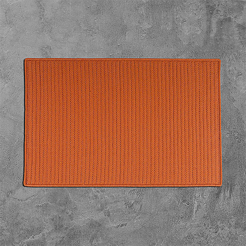 Colonial Mills Simply Home Solid H073 Rust Area Rug main image