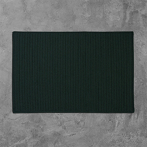 Colonial Mills Simply Home Solid H109 Dark Green Area Rug main image