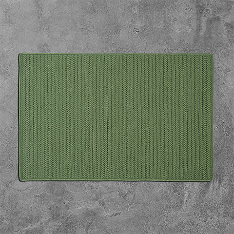 Colonial Mills Simply Home Solid H123 Moss Green Area Rug main image